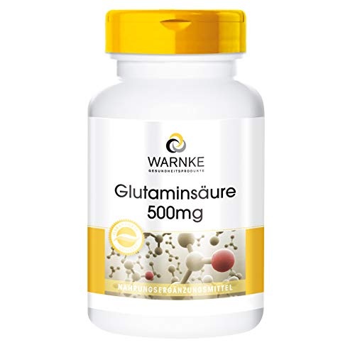 Warnke Glutaminsäure, 500 mg