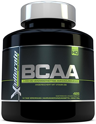 Xellerate Nutrition BCAA Tablette 1000 mg, 425 Tabletten