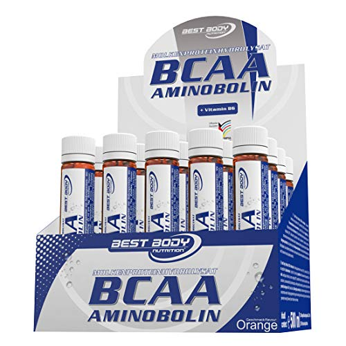 Best Body Nutrition BCAA Aminobolin, 20 Fläschchen