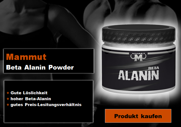 Mammut-Beta-Alanin-Powder